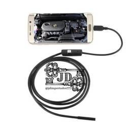 câmera sonda endoscópica 7mm flexível ip67 -  câmera para android, pc e notebook