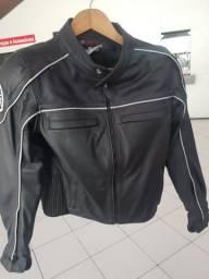 Jaqueta em couro Yamaha - Feminina