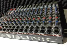 Mesa de som 12 canais-PARCELO12X