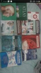 Coleção livros de Tec. enfermagem