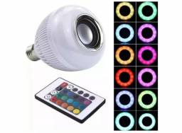 Lampada musical bluetooth led rgb multicor