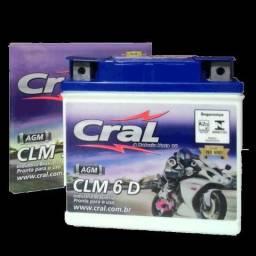 Bateria Selada Cral Moto Clm6 6ah Ybr 125 00/11 Factor 2011