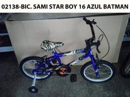Bicicleta 16 Starboy 16 Azul ?Batman?