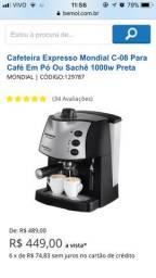 Vendo cafeteira espresso