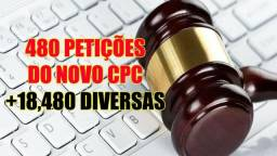 Material com 480 modelos de petições atualizadas com o novo CPC - Leia o anuncio