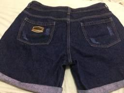 Short jeans usado apenas duas vezes