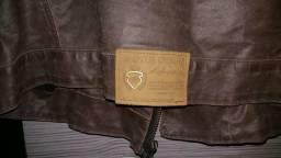 Jaqueta de couro legítimo DAMYLLER