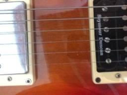 Guitarra Cort CR100 com captador saymour Duncan + pedal mojomojo + Hard case de luxo