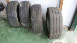 Vendo 4 pneus radial semi novos