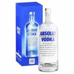 Vodka Absolut 1L R$ 780,00 cx 12un