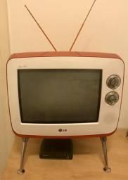 TV LG Vintage 14pol funcionando