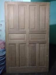 Porta de madeira maciça _ nova