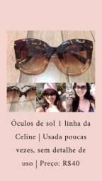 Óculos de sol Celine 1 linha