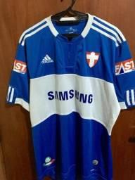 Uniforme Palmeiras 2009 Cruz de Savóia Azul - Tam. G 4f9a00599f4e1