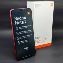 Redmi Note 7 64gb ( Novo ) + 1 Ano de Garantia