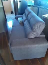 Sofá 4 lugares - Retrátil e reclinável