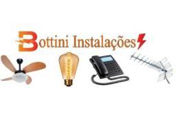 Eletricidade, Telefonia, Ventiladores e Antenas