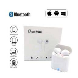Fone De Ouvido Sem Fio Bluetooth I7 Mini Tws Ios Android