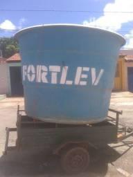 Caixa d'água fortlev fibra 5.000ltrs