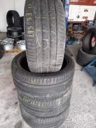 Pneu 295 35 21 Pirelli P Zero Porsche Cayenne jogo