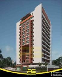 Últimos Apartamentos, novo, Varanda, 02 quartos,Lazer na Cobertura, coworking, 65,35m² e Ó