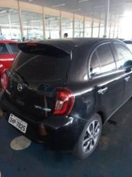 Nissan march automatico cvt 16/17 45mil - 2017