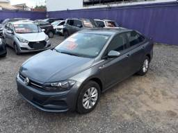 VW - Volkswagen Virtus 1.6 Msi Flex 16v 4p Aut. 2019 Cinza - 2019