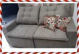 Sofá Debora Pillow - 2metros - frete gratis