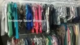 Lote Para Bazar Feminino 100 Peças Sortidas Cod 4