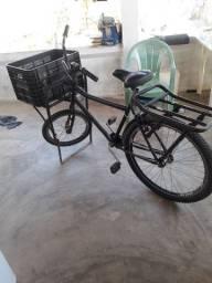 bicicleta cargueira quadro antigo reforçado