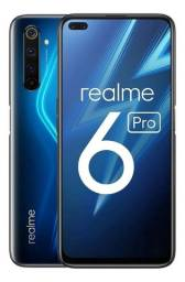 Realme 6 Pro 128gb 8gb Ram Tela 6,6' 90hz Dual Chip 4300mah<br><br>