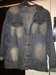 moletom e jaqueta jeans