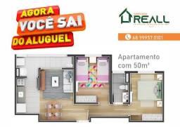 Vende-se Apartamentos 54m² e 50m² - 2 Dormitórios (sendo 1 Suíte)