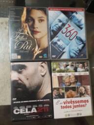 DVDs originais R$15,00 cada
