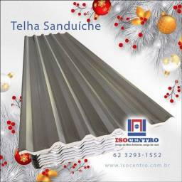 Telhas sanduíche - Isocentro