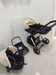 Carrinho com bebê conforto Safety 1st  Mobi