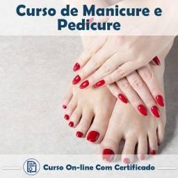 Curso Manicure e Pedicure +Certificado