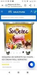 Máquina de sorvete tailandês 220v