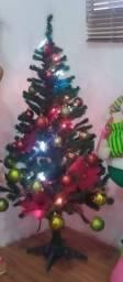 Árvore de natal com decoração 1.20 apx