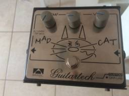 Pedal mad cat Distortion (das antigas super novo pouco uso)