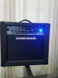 Caixa Amplificada Sound Maker Cube B20T- Profissional