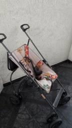 Carrinho Bebê Para Passeio Campora Girafa - Galzerano<br>