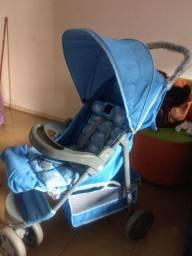 Carrinho de bebê azul Voyage