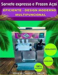 Título do anúncio: Maquina 2 X 1 2 sabores e1 misto de sorvete expresso mais o açai independente