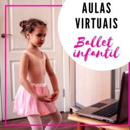 Aulas virtuais de Ballet infantil