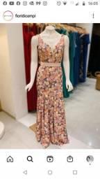 Vestido Fiore Di Campi