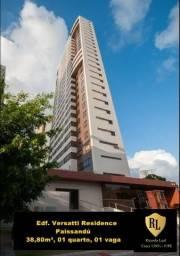 Alugo Apartamento no Paissandú, 31,80m², 01 quarto, mobiliado