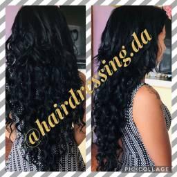 Mega Hair com cabelo de fibra orgânico