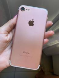 iPhone 7 Rosê 128g única dona
