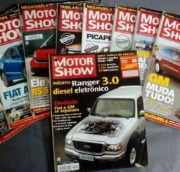 Revistas Diversas sobre Carros Motos e assuntos automobilístico